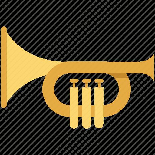 bullhorn, loud hailer, megaphone, sound, speaking speaker, trumpet icon