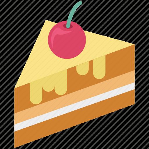bakery food, cake piece, dessert, frozen desser, sweet food icon