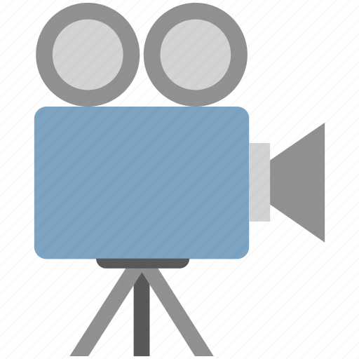 camera, film camera, film recorder, movie camera, shooting camera, video camera icon