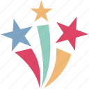 christmas stars, favorite, five pointed, five pointer, like, shape, stars icon