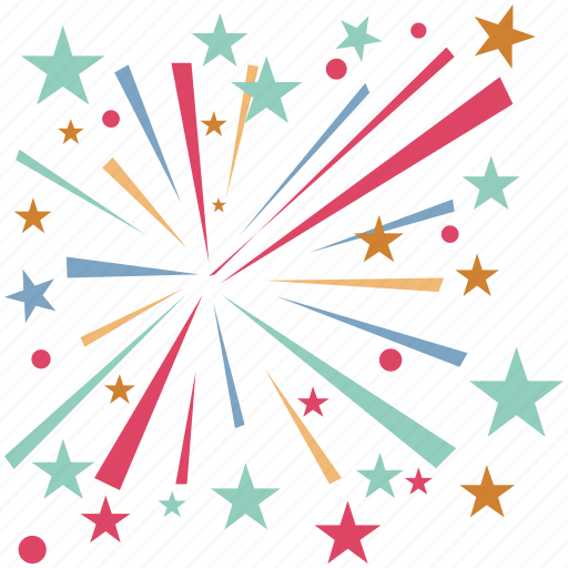 enjoyment, firework, firework stick, fun, happiness, spark icon