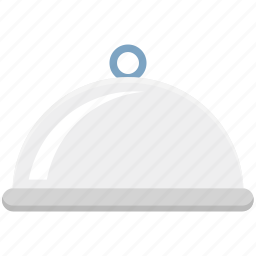 chef platter, chef serving, covered platter, food, food platter, serving platter icon