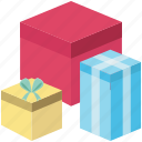 anniversary gift, birthday, box, christmas gift, gifts, present icon