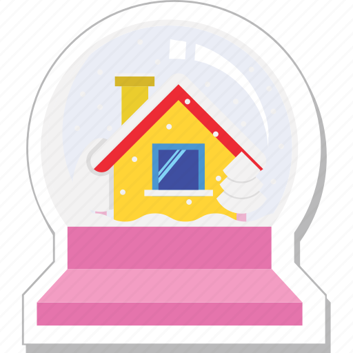 bauble ball, christmas, decorations, home bauble icon