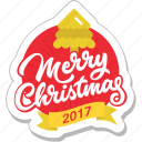 celebration, christmas, decoration, merry christmas, sticker icon