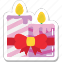 burning, candle, christmas candles, decoration, flame icon