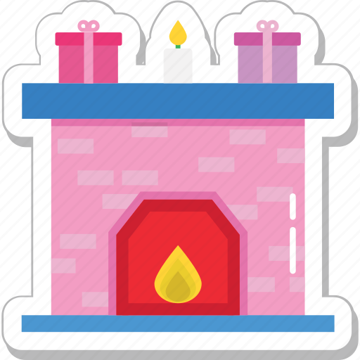 fireplace, heater, heating stove, pellet stove, room stove icon