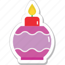 diwali, festival, flame, lantern, oil lamp icon