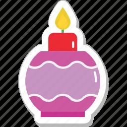 diwali, festival, flame, lantern, oil lamp icon