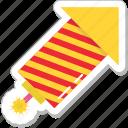 carnival, cracker, explosion, firework, firework rocket icon