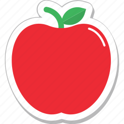 apple, fruit, healthy, nutrition, sweet icon