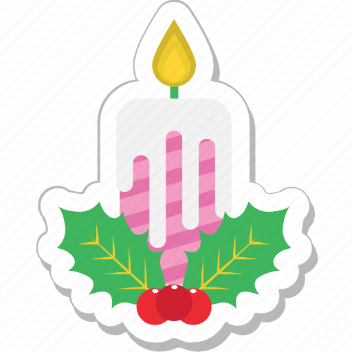 christmas, mistletoe, ornaments, plant, xmas icon