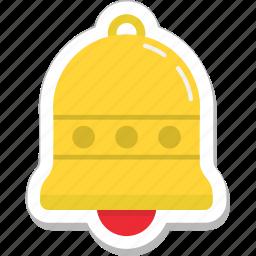 alert, bell, christmas bell, church bell, ring icon