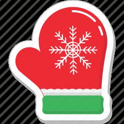 glove, mitten, snow gloves, winter icon