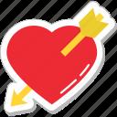 arrow, broken heart, heart, heartbreak, hurt
