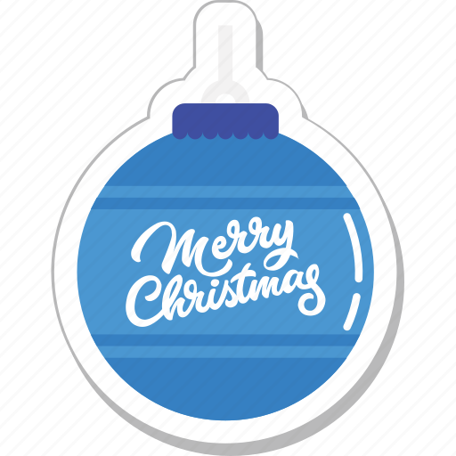 bauble, bauble ball, christmas, decorations, merry christmas icon