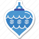 bauble, bauble ball, christmas bauble, decorations, ornaments icon