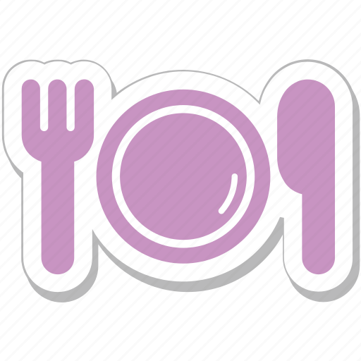 Dining, fork, knife, plate, restaurant icon - Download on Iconfinder