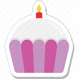 cupcake, dessert, fairy cake, food, muffin icon
