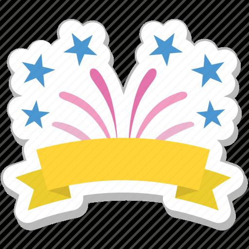 celebration, confetti, party, streamers icon
