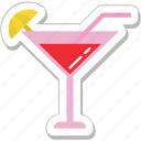 cocktail, drink, glass, margarita, martini icon