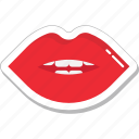 female lips, lips, lips beauty, lips care, smiling lips icon