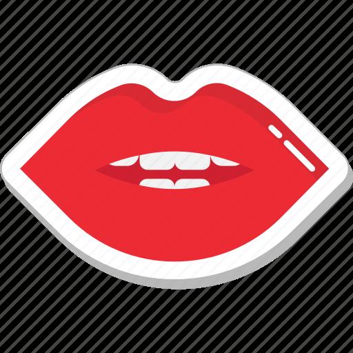female lips, lips, lips beauty, lips care, smiling lips icon
