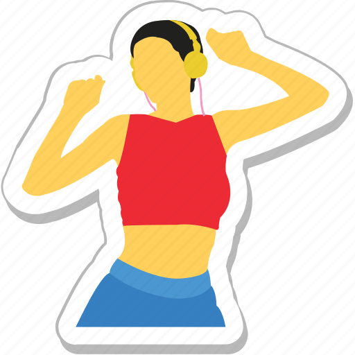 acrobatic, dance, exercise, workout, yoga icon