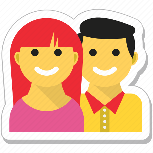 couple, fun, in love, lovers, valentine icon