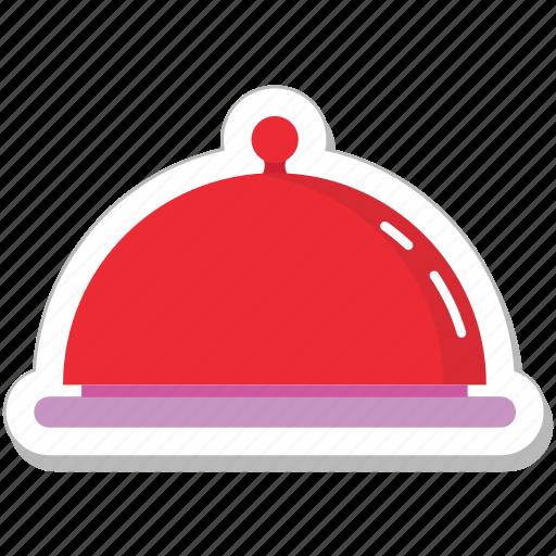 chef platter, food, food serving, platter, serving platter icon