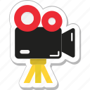 camera, movie camera, recording, shooting, video camera icon