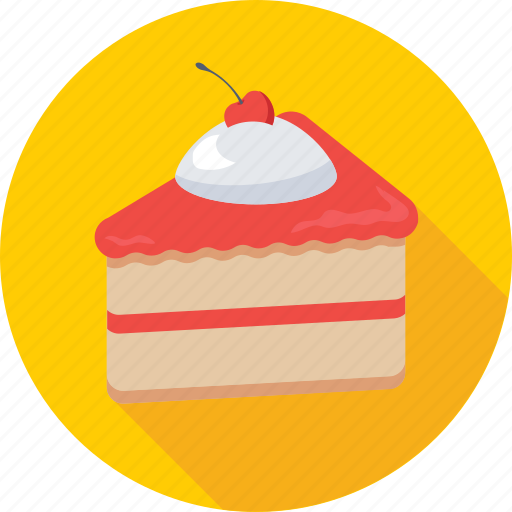 Bakery, cake piece, dessert, food, sweet icon - Download on Iconfinder