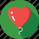 balloon, celebrations, decorations, heart balloons, party