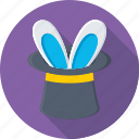 magic, magic trick, magician, magician hat, top hat icon