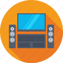 electronics, music system, speaker, subwoofer, woofer icon