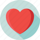 favorite, heart, love, romantic, valentine icon