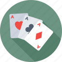 cards, casino, game, poker cards, suit card icon