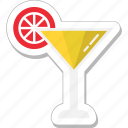 beverage, drink, glass, juice, lemonade icon