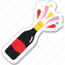 bottle, beer, alcohol, wine bottle, champagne bottle