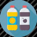 beverage, drink, fruit juice, juice, juice bottles icon
