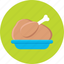 chicken, food, roast, roast chicken, turkey icon