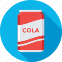 cola, drink, soda, soda tin, tin pack icon