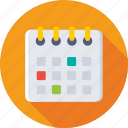 calendar, date, day, daybook, timetable icon