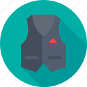 clothing, fashion, formal, style, waistcoat icon