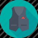 clothing, fashion, formal, style, waistcoat icon
