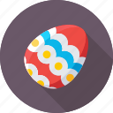 decorations, easter, easter egg, egg, paschal egg icon