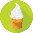 cone, ice cone, ice cream, snow cone, sweet icon