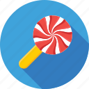 candy, confectionery, lollipop, sweet, swirl lollipop icon