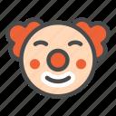 circus, clown, joker, fun, smile, cartoon