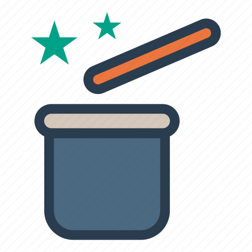 Magic, magicstick, wand, wizard icon - Download on Iconfinder